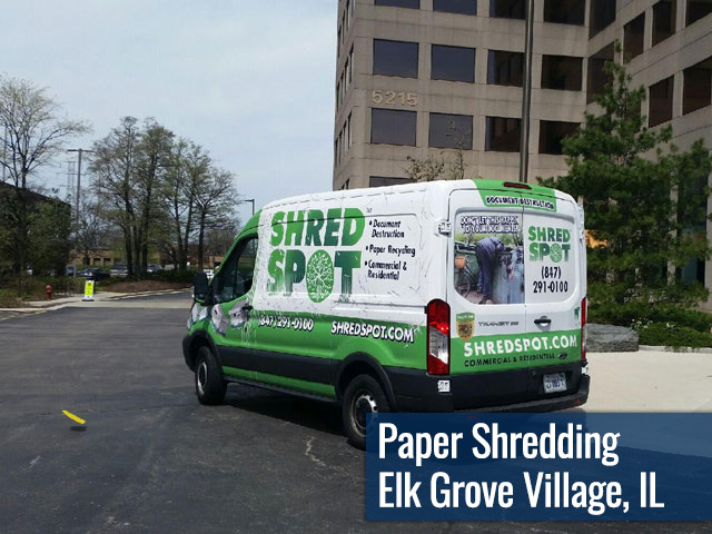 Paper Shredding & Document Destruction in Elk Grove Village, IL by Shred Spot