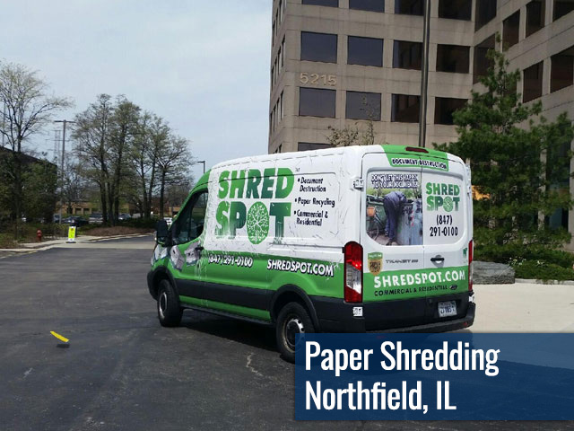 Paper Shredding & Document Destruction in Northfield, IL by Shred Spot